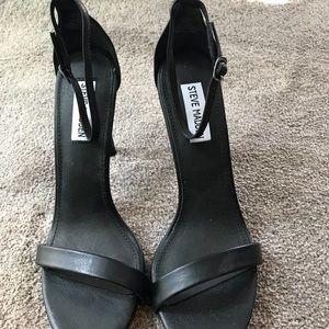 Steve Madden heels black size 8 1/2